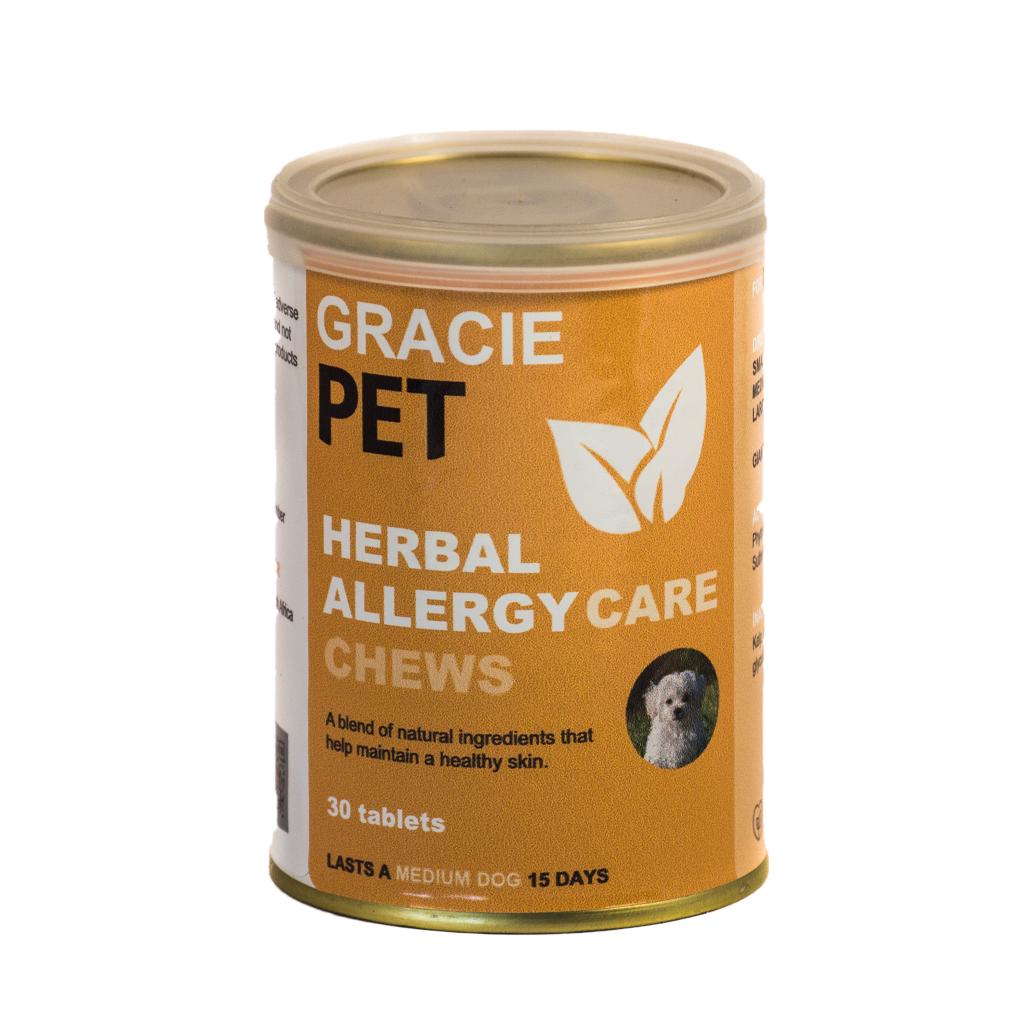Gracie Pet-Herbal Allergy Care Chews